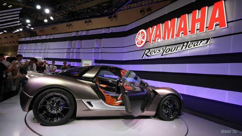 Yamaha представила прототип сверхлегкого спорткара Sports Ride Concept