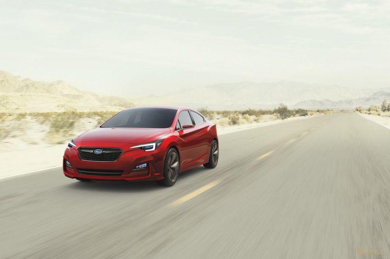 Subaru показал прототип новой Impreza