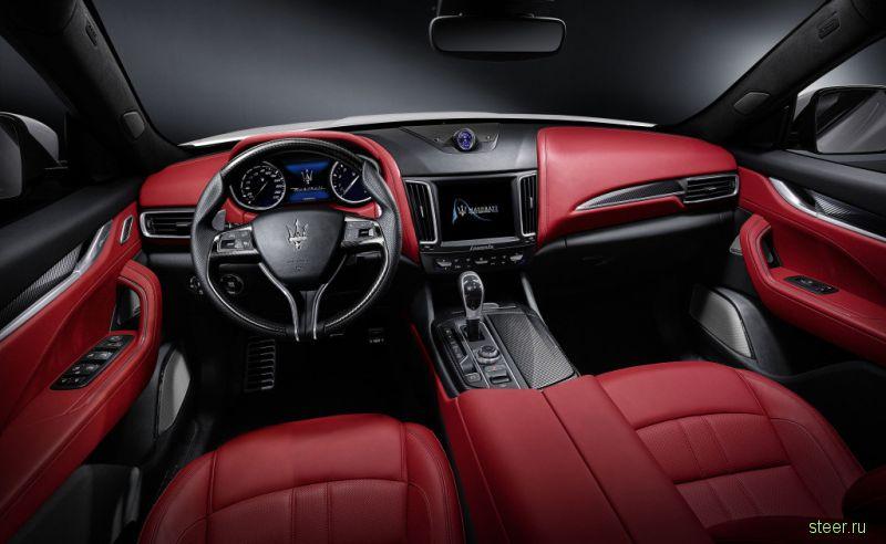 Кроссовер Maserati Levante: от 5,5 млн рублей