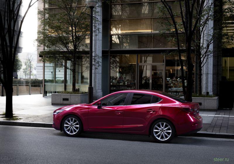 Представлена обновлённая Mazda 3