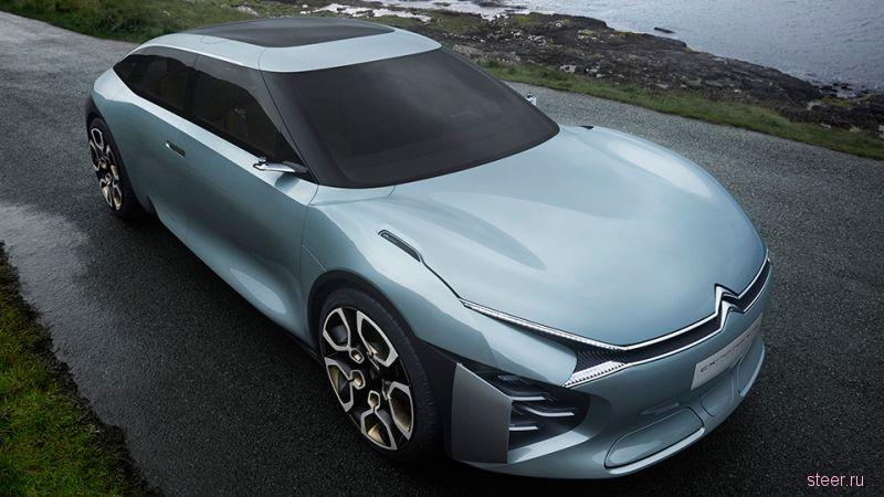Citroen CXPERIENCE : прототип представительского седана