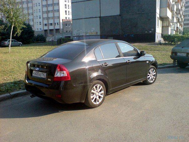 Концепт ВАЗ 2116 замечен на дорогах Тольятти