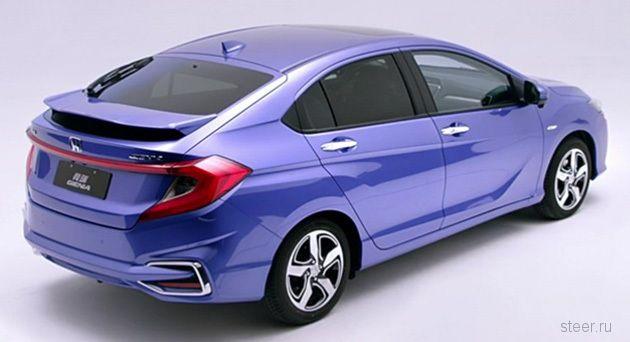 Honda представила хэтчбек-кроссовер Gienia на базе Honda City