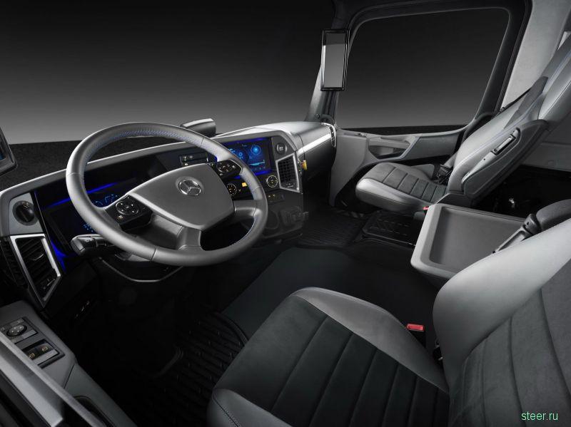 Mercedes-Benz Urban eTruck : электрический грузовик