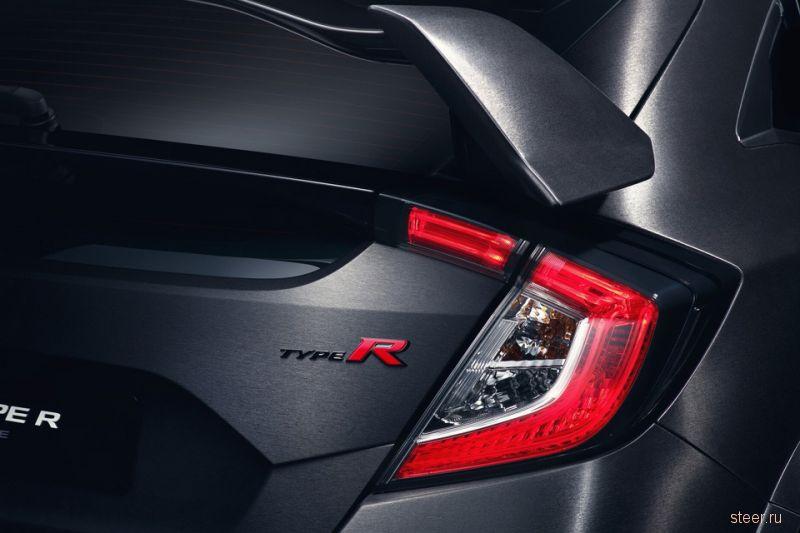 Honda показала предсерийный Civic Type R
