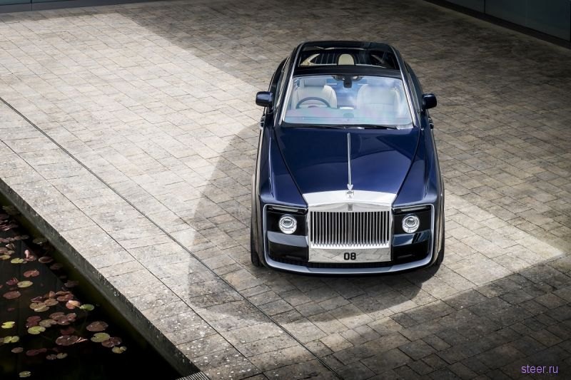 Купе Rolls-Royce Sweptail : автомобиль за $13 миллионов