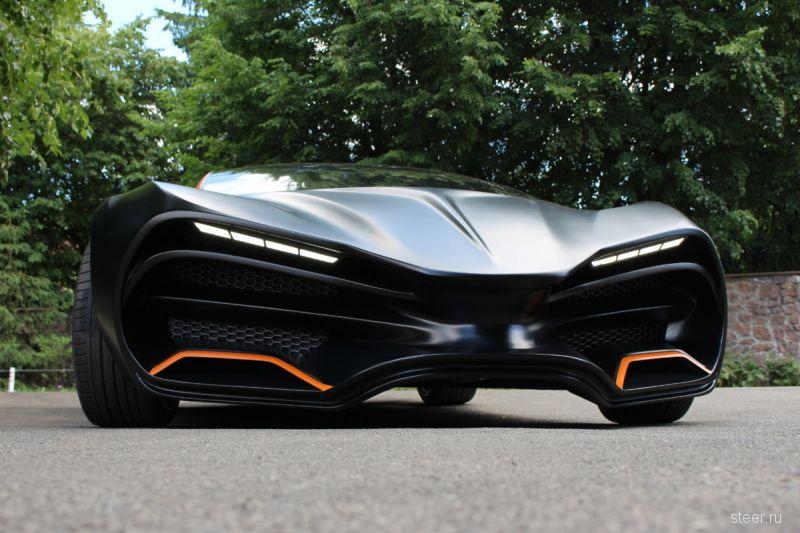 Himera Q — украинский суперкар за 700 000 евро