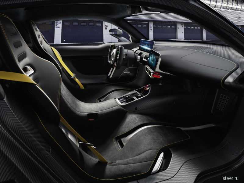 Официально представлен гибридный гиперкар Mercedes-AMG Project ONE