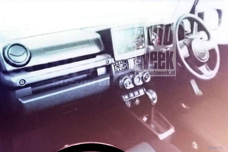 Новый Suzuki Jimny сфотографировали на заводе