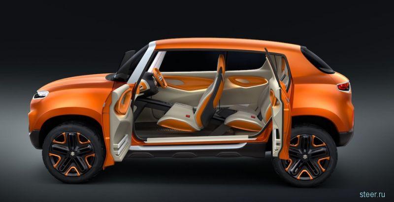 Suzuki Future S : прототип дешевого маленького кроссовера