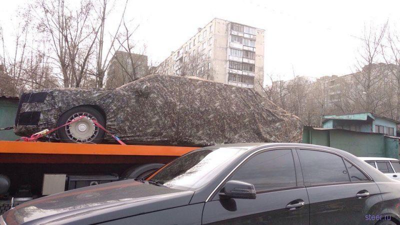 Путинский лимузин проекта «Кортеж» засняли на улице