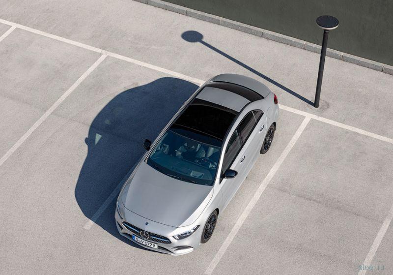 Представлен «короткий» седан Mercedes-Benz A-Class