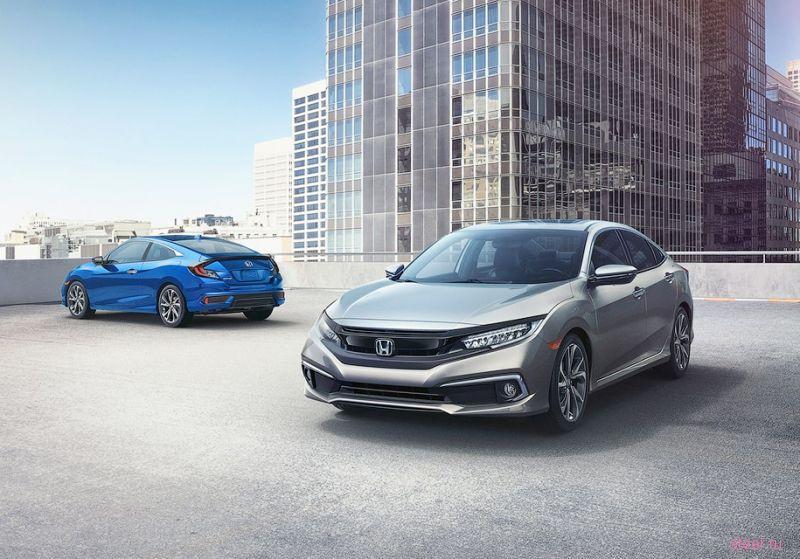Представлена обновленная Honda Civic
