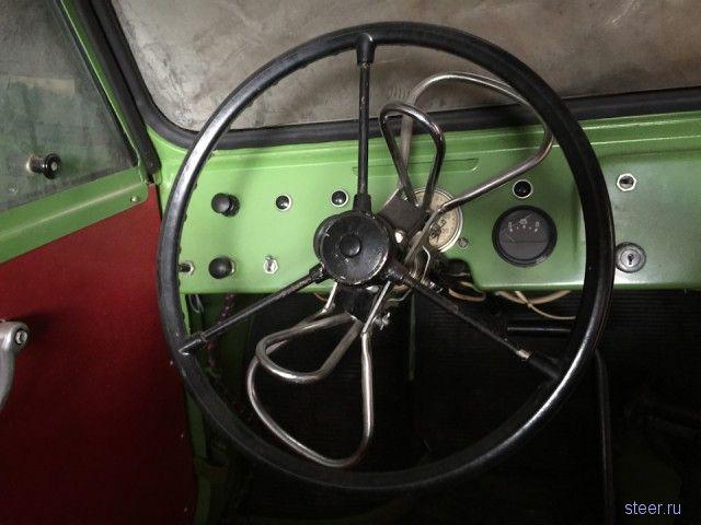 Капсула времени: инвалидка-мотоколяска смз-с3д 1982-го года с пробегом 103 км