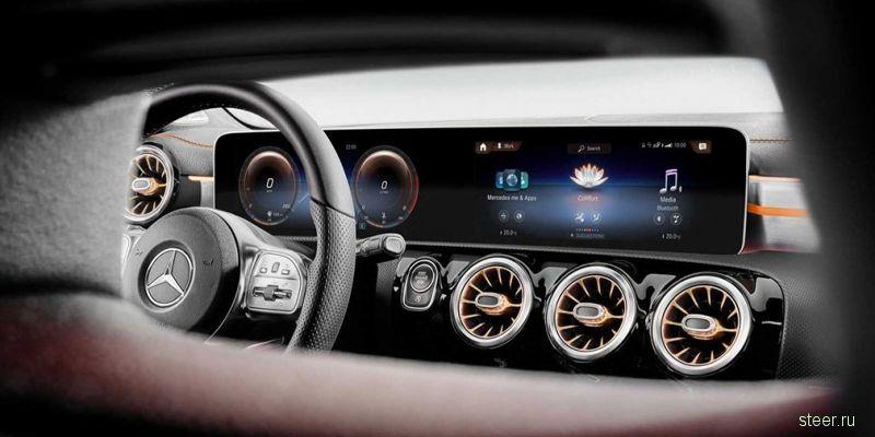Mercedes-Benz представил новое поколение седана CLA
