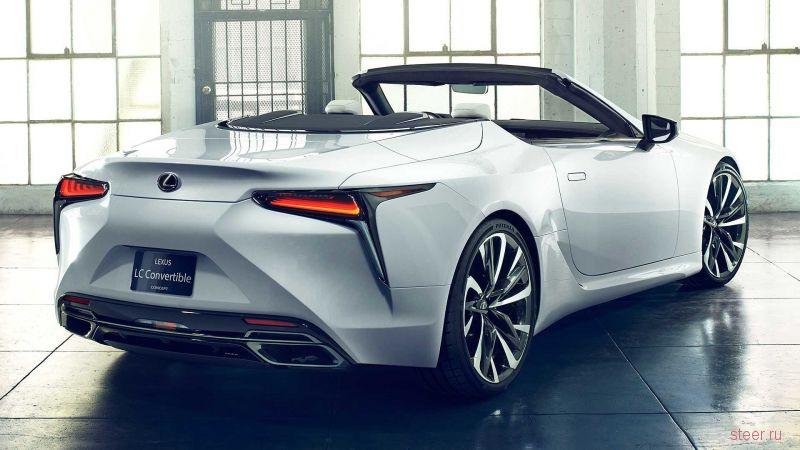 Lexus показал кабриолет LC Convertible Concept