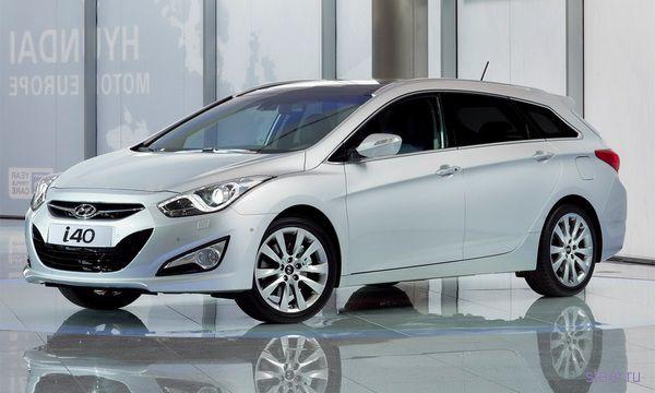 Hyundai i40 : Рассекречен преемник Hyundai Sonata (фото)
