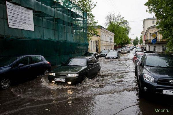 Москва, Хохловский переулок, три часа дня: после дождичка в четверг.