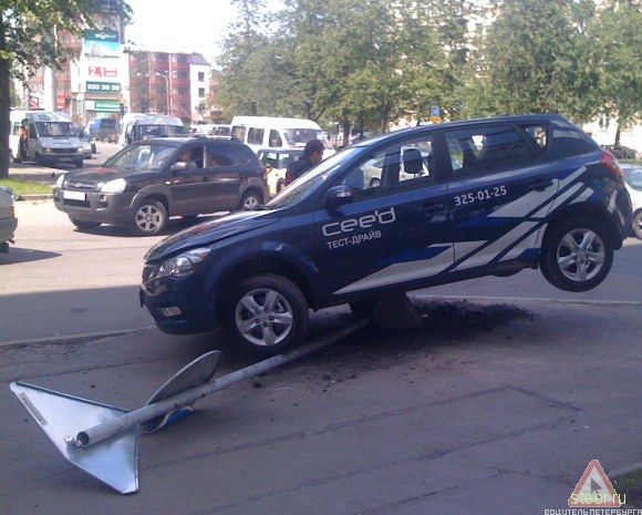 Kia Cee'd : Тест-драйв и краш-тест (фото)
