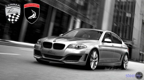 Русский тюнинг для BMW 5 серии 2011 (фото)