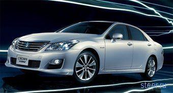 Toyota предлагает японцам Crown Hybrid Special Edition — доступную модификацию шикарного гибрида (фото)