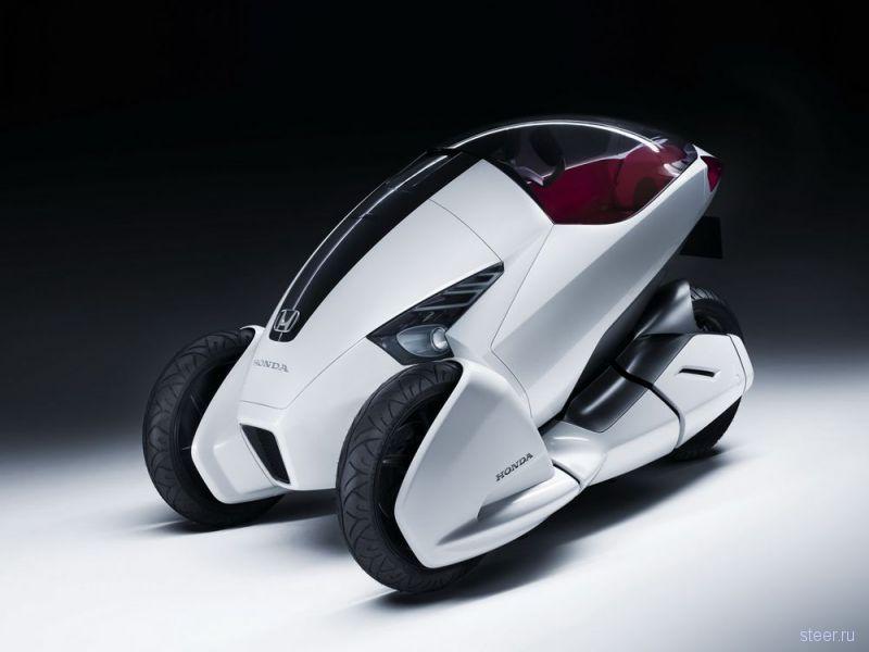 Honda представила трехколесный электромопед 3R-C (фото)