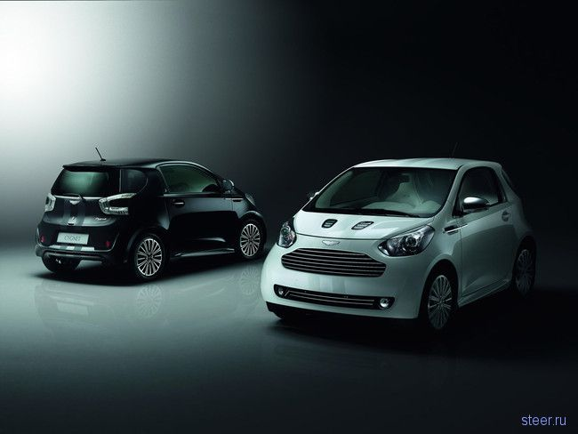 Cygnet: Aston Martin начал выпуск микролитражки на базе Toyota iQ  (фото)