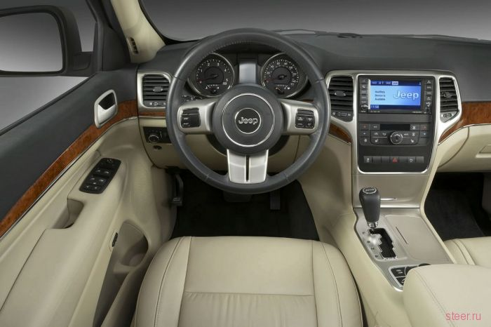 Новые фотографии и видео Jeep Grand Cherokee 2011 модельного года (фото)