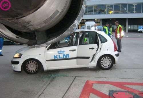 авария в аэропорту