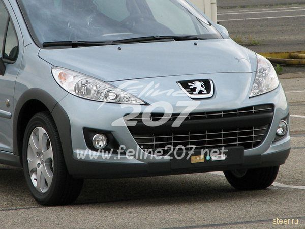 Peugeot 207: новое поколение или эко-модификация? (фото)