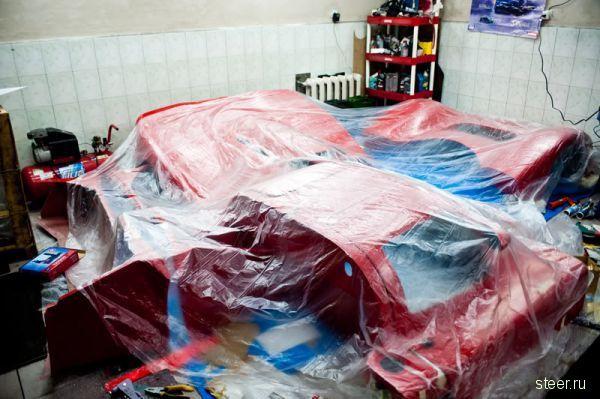 Самый быстрый суперкар Ultima GTR720 собирали на Украине (фото)