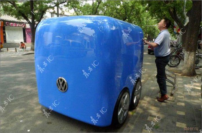 Volkswagen представил в Китае концепт народного автомобиля (фото)