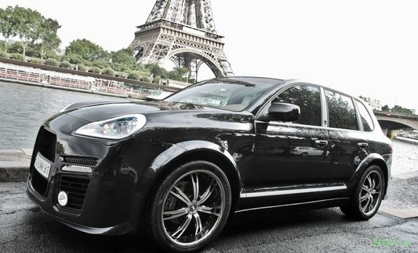 Balrog Porsche Cayenne Turbo – Французский взгляд на тюнинг (фото)