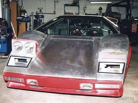 Американец потратил 10 лет на Lamborghini Countach (фото)