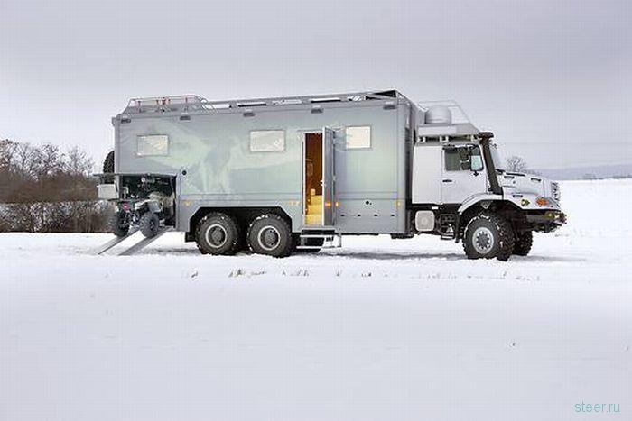 Mercedes-Benz Zetros для люксовых экспедиций (фото)