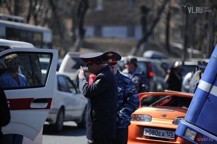 ДТП в центре Владивостока: два человека погибли (фото и видео)