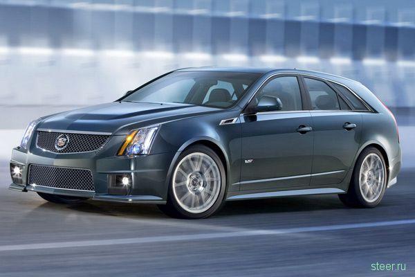 Cadillac CTS-V Sport Wagon : бешенный сарай (фото)