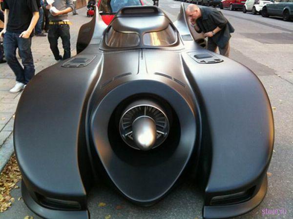BatMobil был замечен в Швеции (фото и видео)