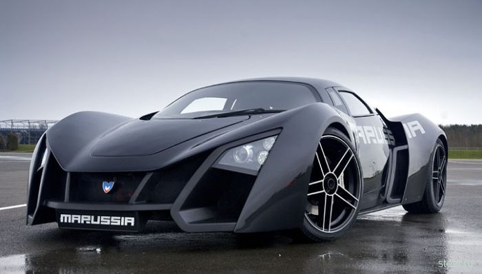 Marussia motors и Virgin racing провели совместную презентацию на легендарном Сильверстоуне (фото)
