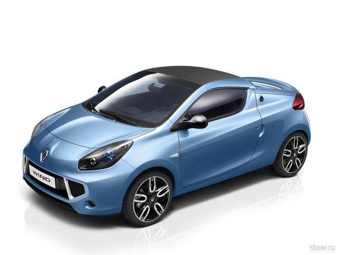 Renault представила новую микро-гонку — 2-местный родстер Wind (фото)