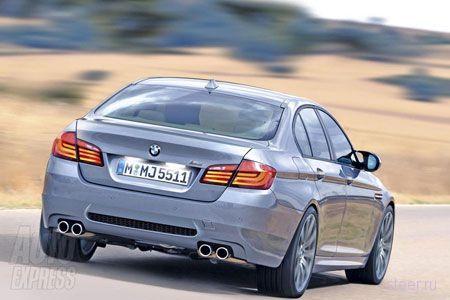 Новая BMW M5. Первая информация и фото