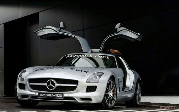 Mercedes-Benz SLS AMG — новый официальный автомобиль безопасности Формулы-1 (фото)