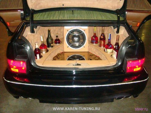 Отечественный тюнинг Cadillac STS (фото)