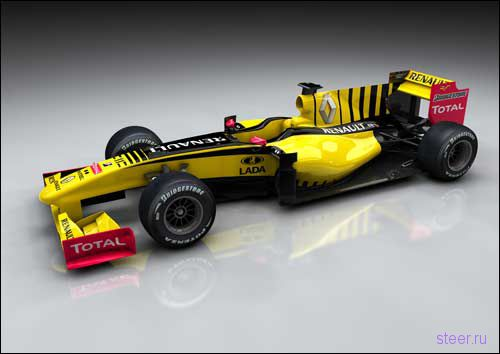 Renault представила R30 с логотипами Lada (фото)