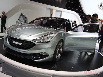 Компания Hyundai представила прототип новой Сонаты