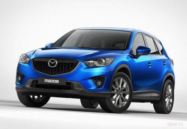 Mazda рассекретила новый компактный кроссовер (фото)
