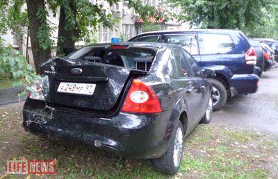 Автоугонщик привлек внимание полицейских грубой ездой по Москве на машине с особыми номерами и был задержан