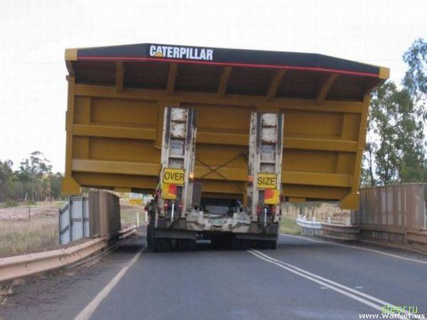 Габаритная транспортировка
