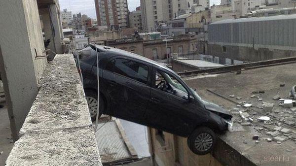 Экстремальный паркинг (фото)