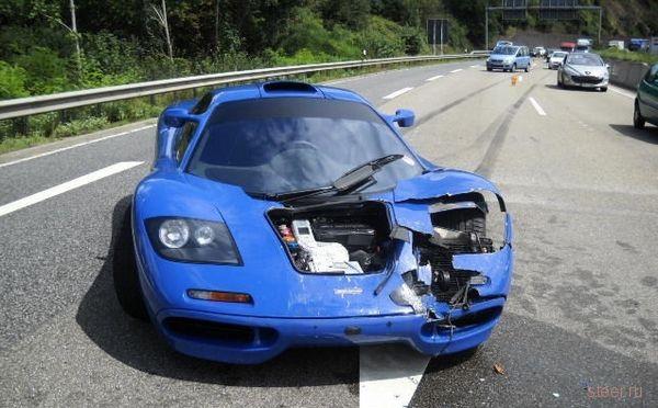 Мелкое ДТП с большим ущербом (фото)